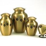Classic Paws Brass Pet Urn