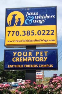 Paws Whiskers & Wags Your Pet Crematory in Covington, GA
