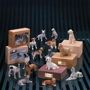 dog-figurine-urns