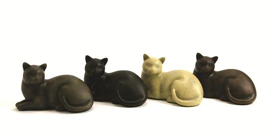 Cozy Cat Series Pet Urn